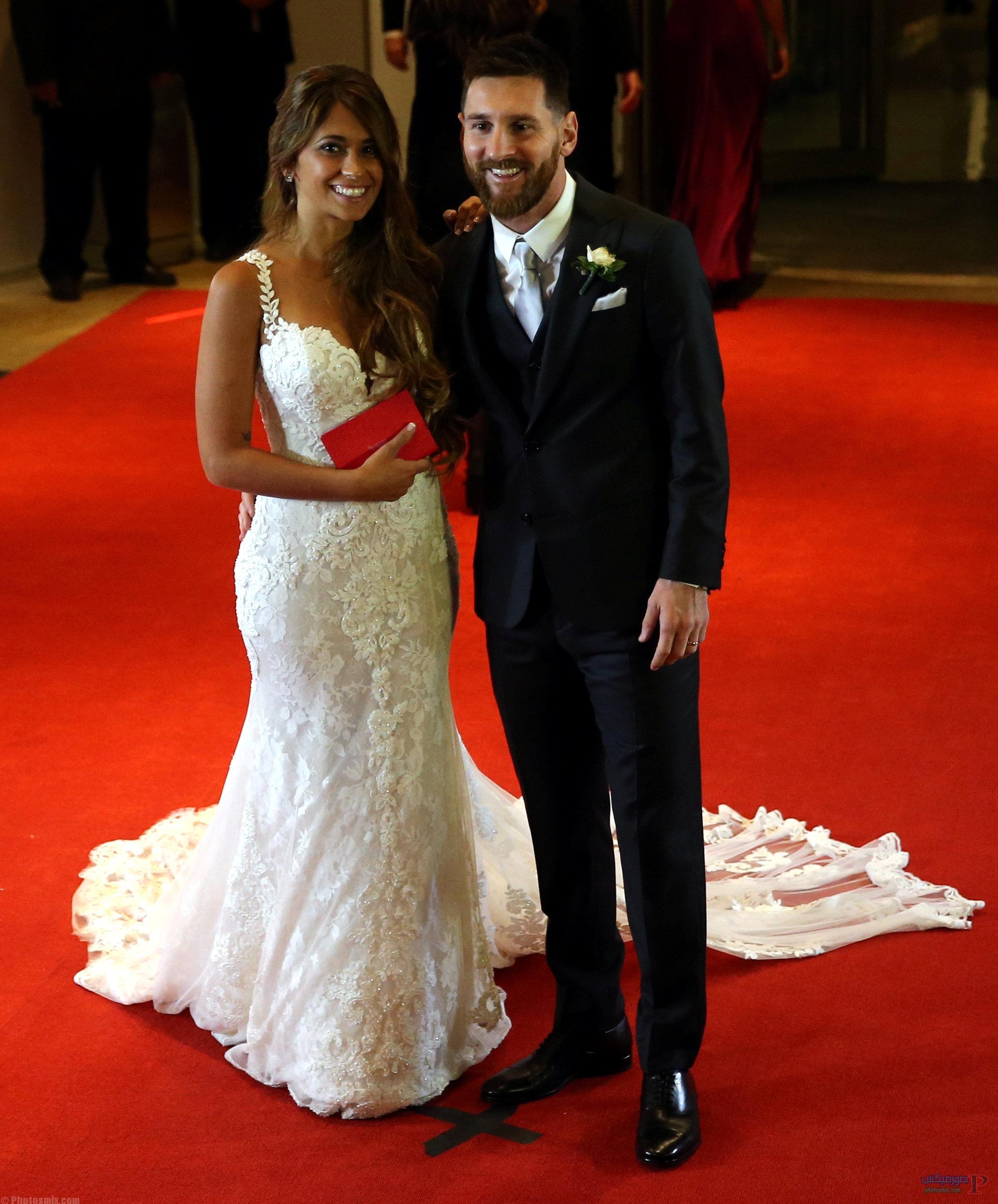 صور لزفاف ليونيل ميسي 5