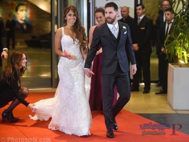 صور لزفاف ليونيل ميسي 6