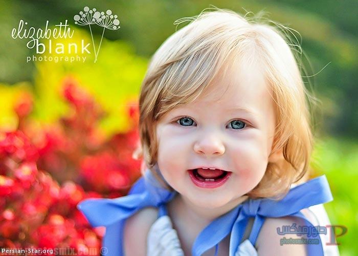 اطفال جميلة بعيون زرقاء 1