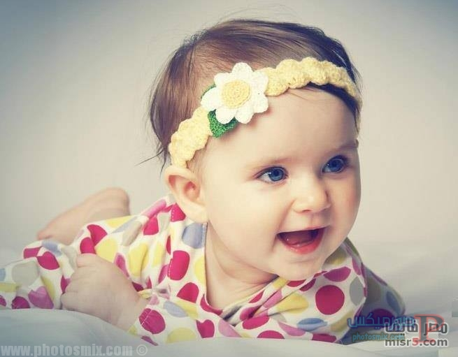 اطفال جميلة بعيون زرقاء 4