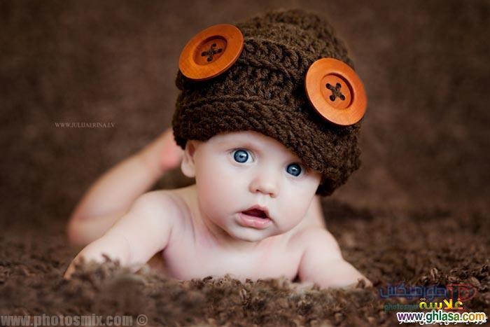 اطفال جميلة بعيون زرقاء
