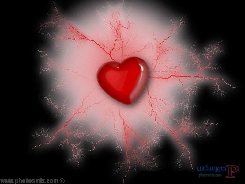 -قلوب-حمراء-1 صور قلوب رومانسية, احلي قلوب حب وورد 2018, صور قلوب مجروحة