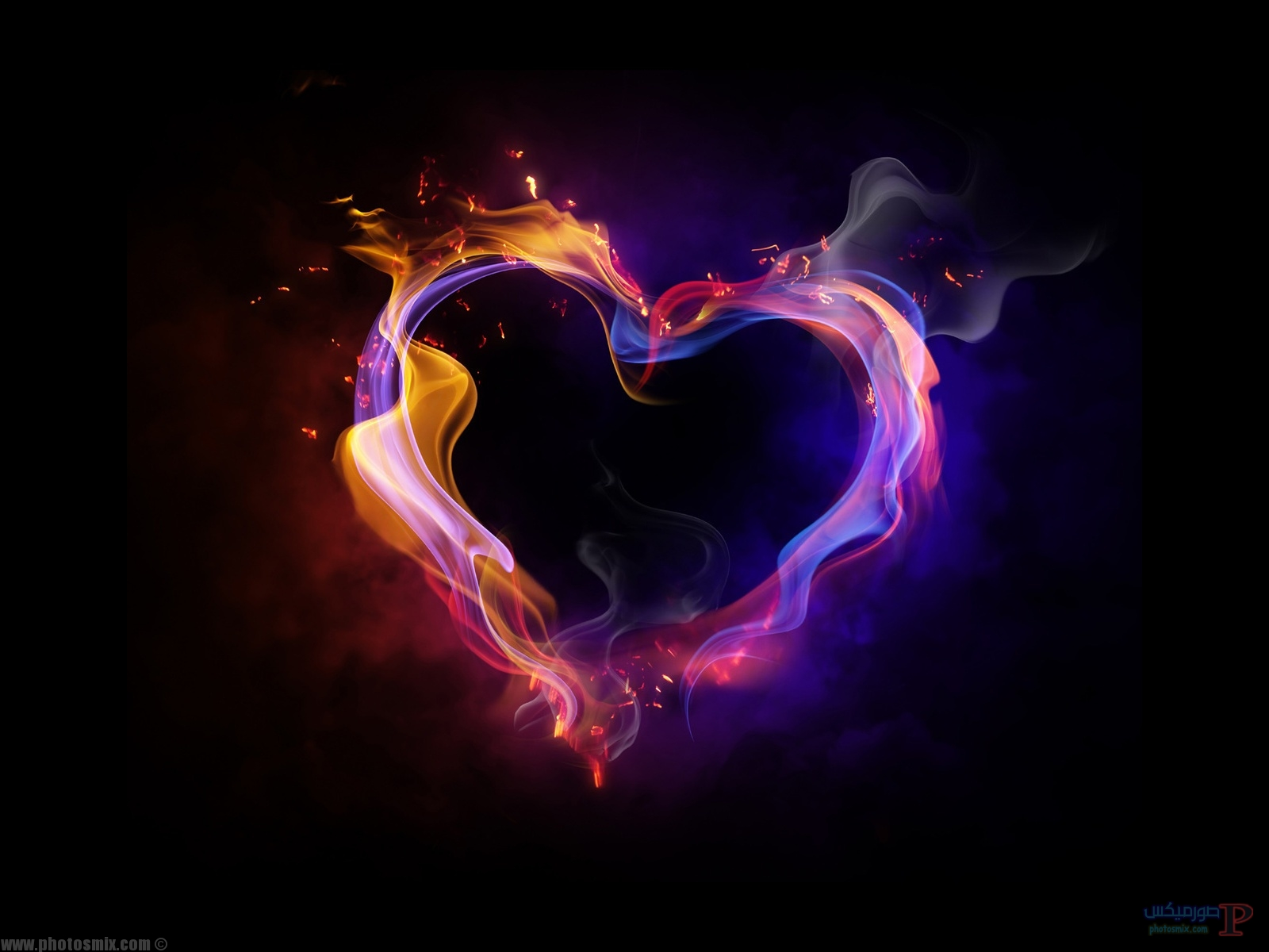 قلوب وورد 1