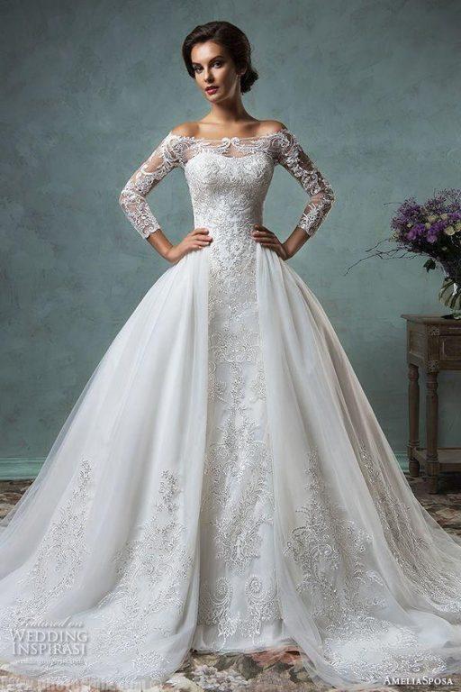 -سواريه-جميلة-1 صور فساتين سواريه ,موديلات فساتين سهرة 2017 , فساتين زفاف