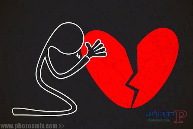 -حب-وقلوب-مجروحة-7 صور قلوب رومانسية, احلي قلوب حب وورد 2018, صور قلوب مجروحة