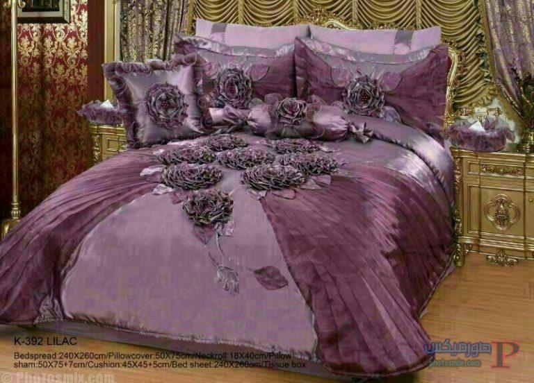 احدث مفارش سرير للعروسة 2