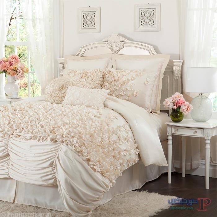 -مفارش-سرير-عرايس-يجنن-6 احلي مفارش سرير وسفرة  2018 , مفرش عرايس تركي , اروع مفارش للعروسة