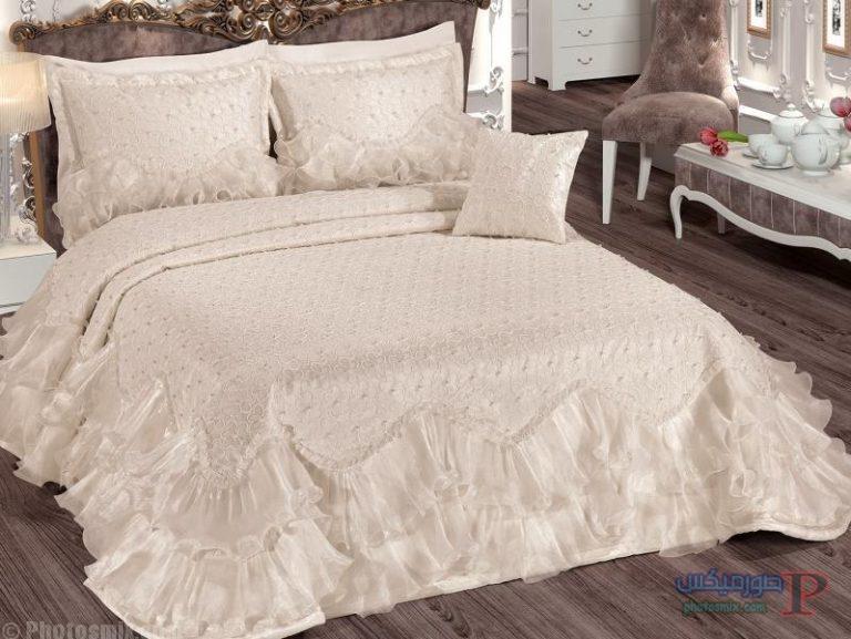 مفارش سرير للعرايس مطرزة 4