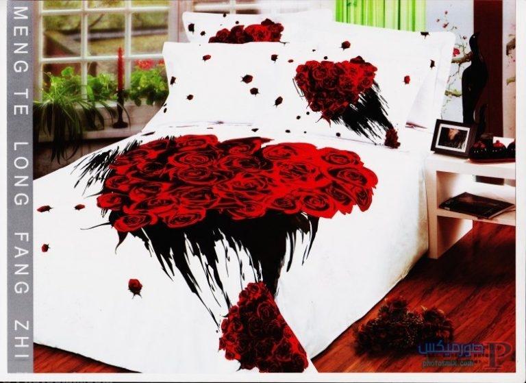 مفارش سرير للعرايس مطرزة