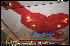 أجمل ديكورات جبس سقف معلق 6
