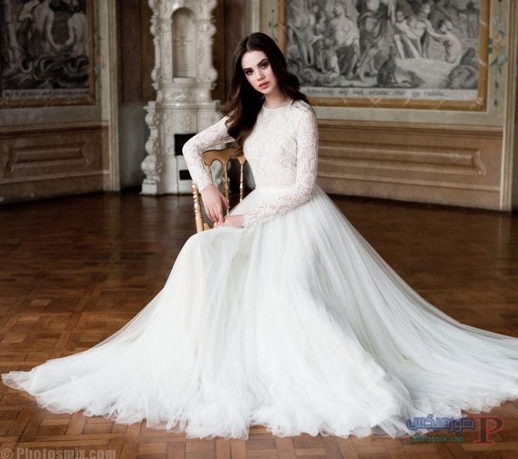 زفاف 2017 فساتين افراح للمحجبات فساتين ليله العمر 20