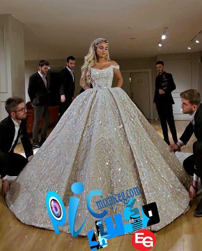 فساتين زفاف 2020 17