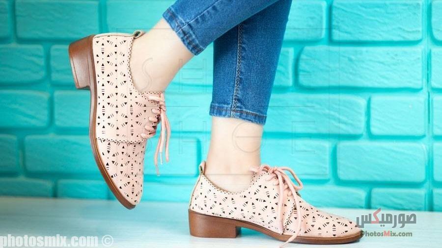 أحذية حريمي 100 - صور أحذية حريمي صيف 2019, صور أحذية بنات جديدة, صور أحذية حريمي فلات