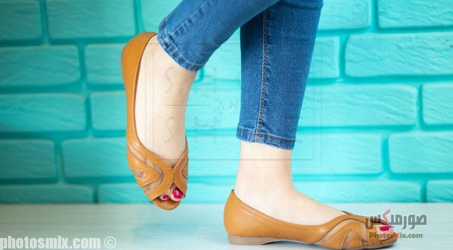 أحذية حريمي 101 - صور أحذية حريمي صيف 2019, صور أحذية بنات جديدة, صور أحذية حريمي فلات