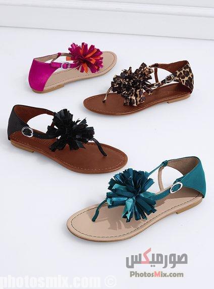 أحذية حريمي 14 - صور أحذية حريمي صيف 2019, صور أحذية بنات جديدة, صور أحذية حريمي فلات