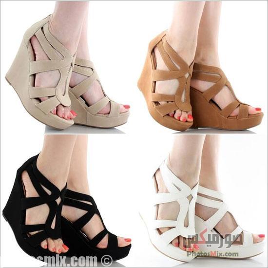 أحذية حريمي 144 - صور أحذية حريمي صيف 2019, صور أحذية بنات جديدة, صور أحذية حريمي فلات