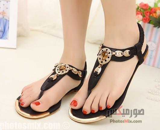 أحذية حريمي 149 - صور أحذية حريمي صيف 2019, صور أحذية بنات جديدة, صور أحذية حريمي فلات