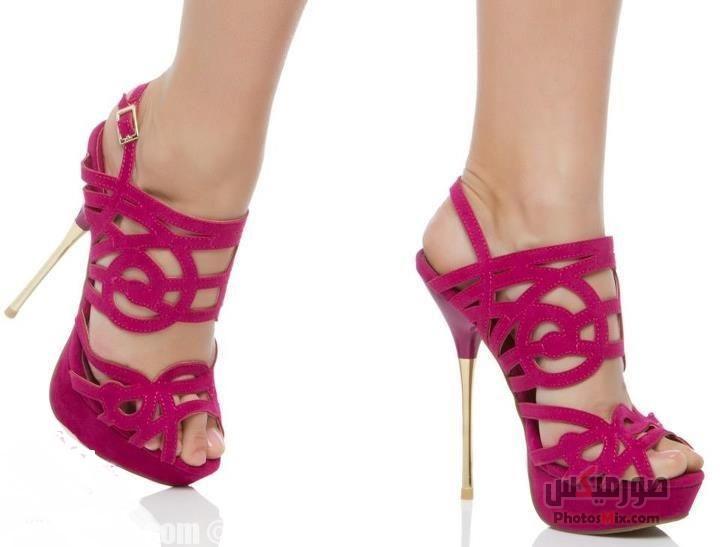 أحذية حريمي 152 - صور أحذية حريمي صيف 2019, صور أحذية بنات جديدة, صور أحذية حريمي فلات