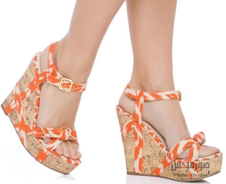 أحذية حريمي 153 - صور أحذية حريمي صيف 2019, صور أحذية بنات جديدة, صور أحذية حريمي فلات