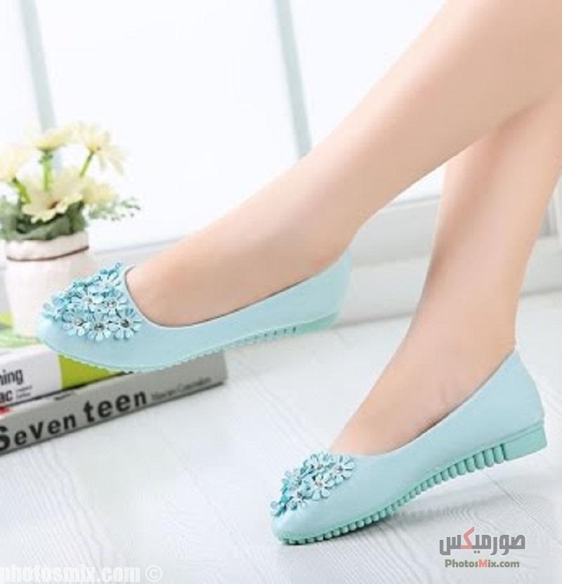 أحذية حريمي 154 - صور أحذية حريمي صيف 2019, صور أحذية بنات جديدة, صور أحذية حريمي فلات