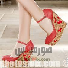 أحذية حريمي 156 - صور أحذية حريمي صيف 2019, صور أحذية بنات جديدة, صور أحذية حريمي فلات