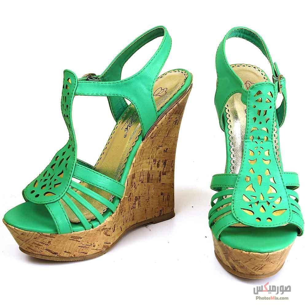 أحذية حريمي 175 - صور أحذية حريمي صيف 2019, صور أحذية بنات جديدة, صور أحذية حريمي فلات