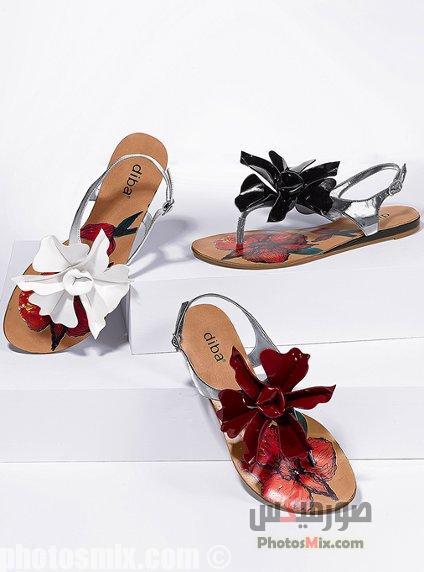 أحذية حريمي 31 - صور أحذية حريمي صيف 2019, صور أحذية بنات جديدة, صور أحذية حريمي فلات