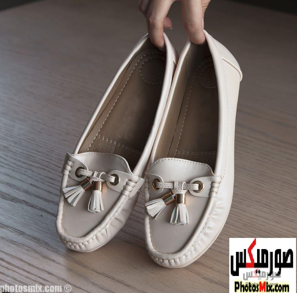 أحذية حريمي 37 - صور أحذية حريمي صيف 2019, صور أحذية بنات جديدة, صور أحذية حريمي فلات