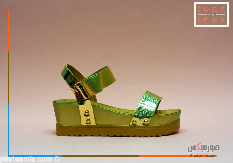أحذية حريمي 56 - صور أحذية حريمي صيف 2019, صور أحذية بنات جديدة, صور أحذية حريمي فلات
