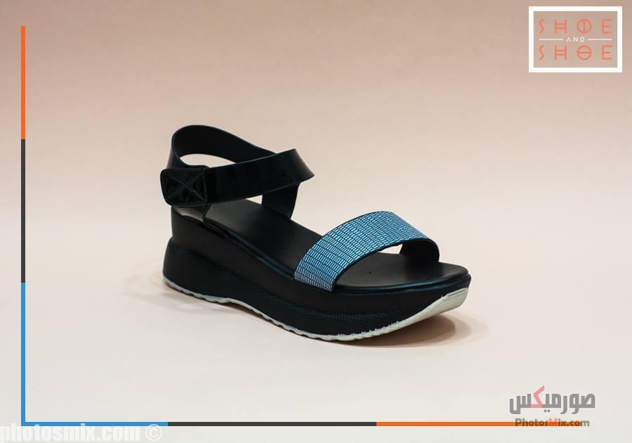 أحذية حريمي 60 - صور أحذية حريمي صيف 2019, صور أحذية بنات جديدة, صور أحذية حريمي فلات