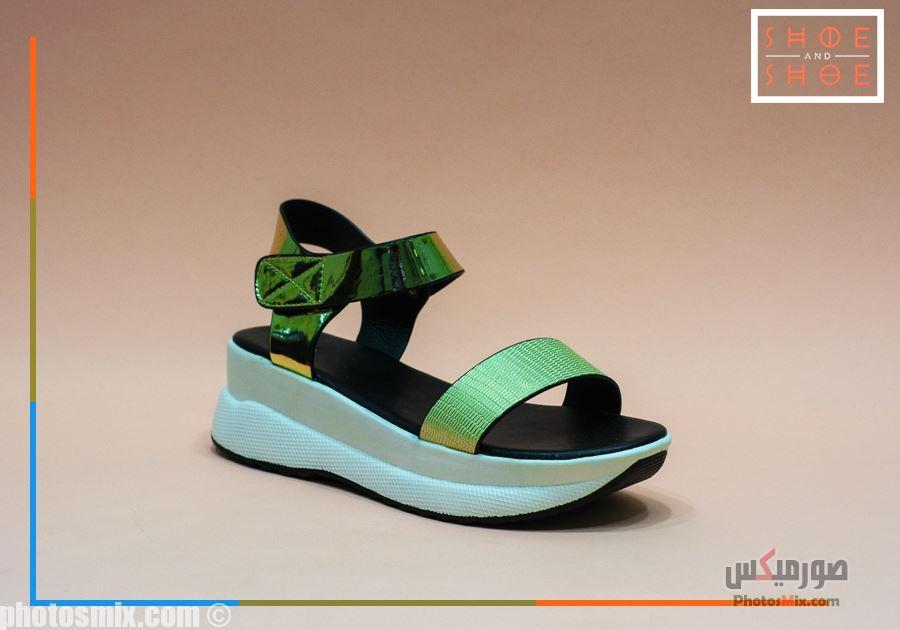 أحذية حريمي 66 - صور أحذية حريمي صيف 2019, صور أحذية بنات جديدة, صور أحذية حريمي فلات