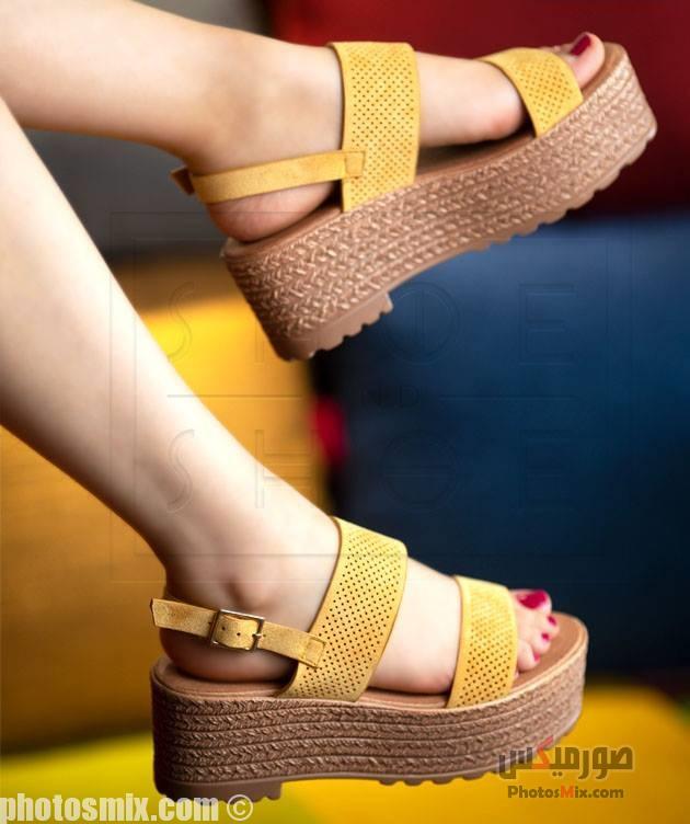 أحذية حريمي 96 - صور أحذية حريمي صيف 2019, صور أحذية بنات جديدة, صور أحذية حريمي فلات