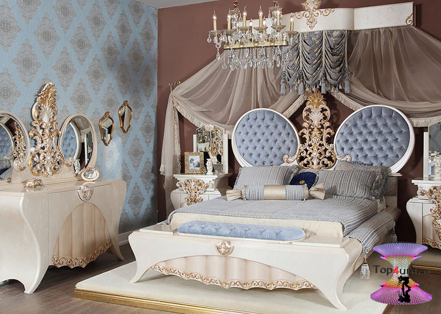 احلي مفارش سرير وسفرة 2020 مفرش عرايس تركي اروع مفارش للعروسة 1