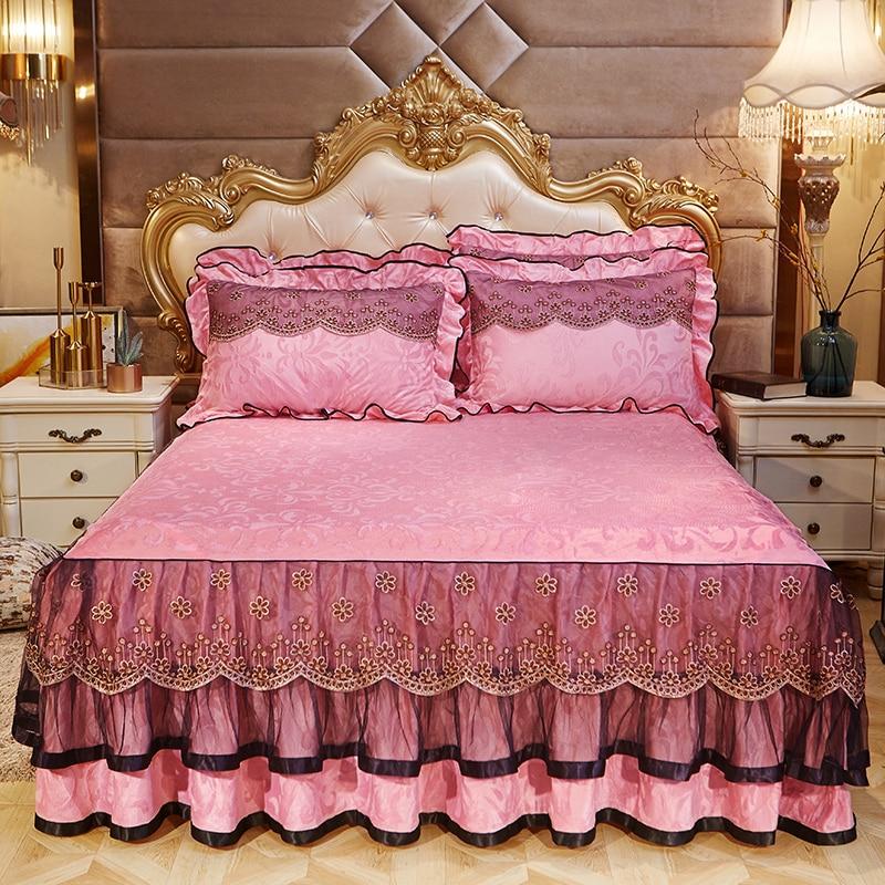 احلي مفارش سرير وسفرة 2020 مفرش عرايس تركي اروع مفارش للعروسة 11