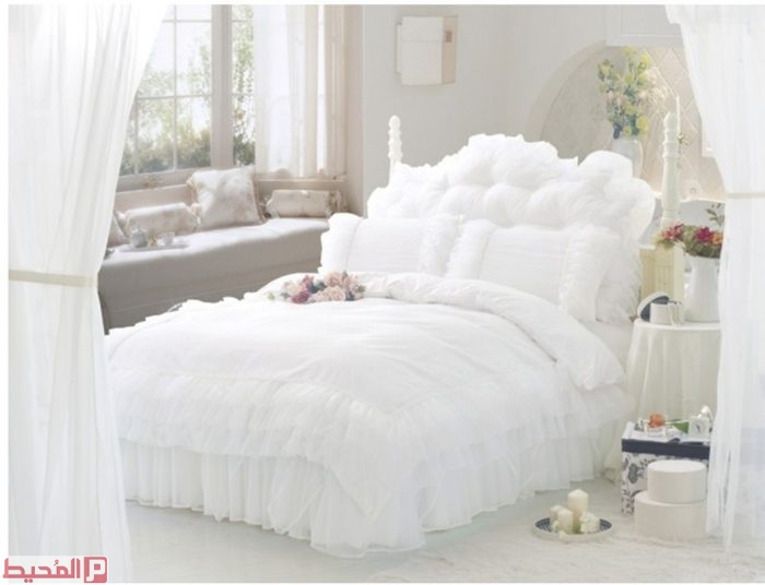 احلي مفارش سرير وسفرة 2020 مفرش عرايس تركي اروع مفارش للعروسة 24