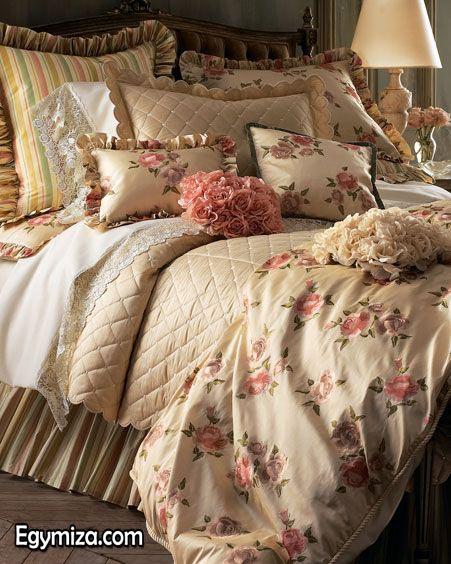 احلي مفارش سرير وسفرة 2020 مفرش عرايس تركي اروع مفارش للعروسة 31