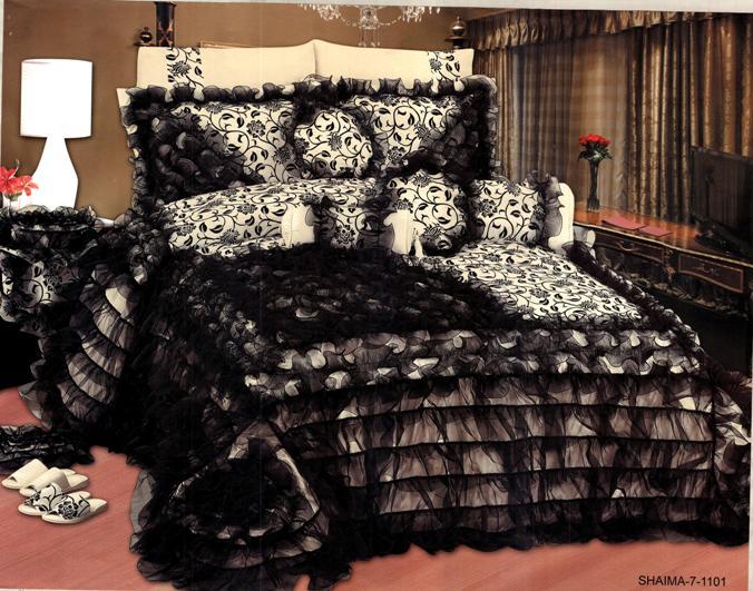 احلي مفارش سرير وسفرة 2020 مفرش عرايس تركي اروع مفارش للعروسة 34