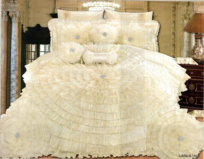 احلي مفارش سرير وسفرة 2020 مفرش عرايس تركي اروع مفارش للعروسة 44