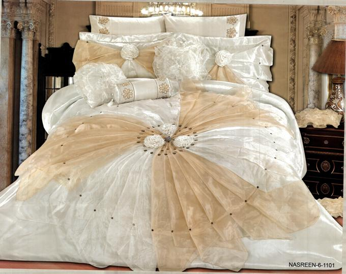 احلي مفارش سرير وسفرة 2020 مفرش عرايس تركي اروع مفارش للعروسة 45