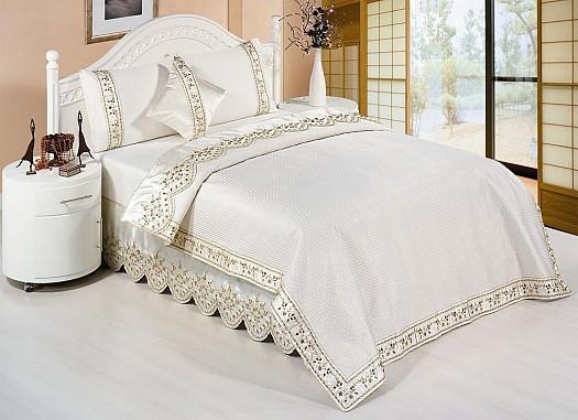 احلي مفارش سرير وسفرة 2020 مفرش عرايس تركي اروع مفارش للعروسة 48