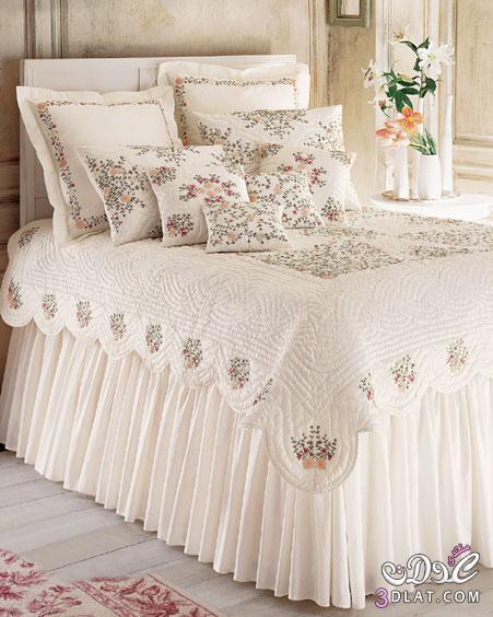 احلي مفارش سرير وسفرة 2020 مفرش عرايس تركي اروع مفارش للعروسة 55