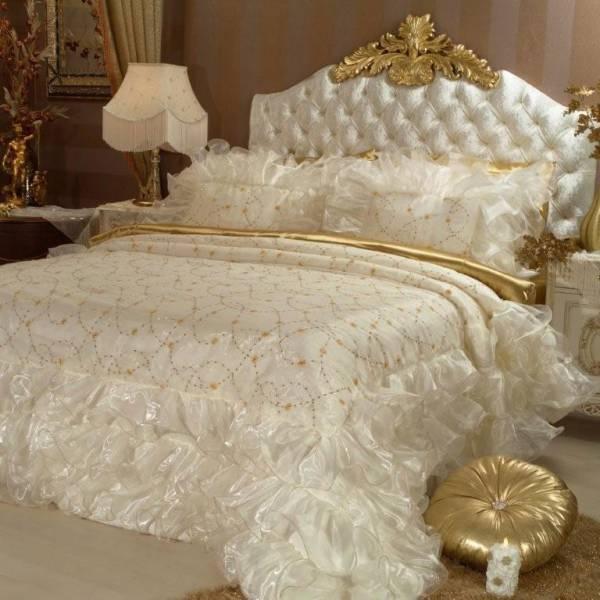 احلي مفارش سرير وسفرة 2020 مفرش عرايس تركي اروع مفارش للعروسة 56