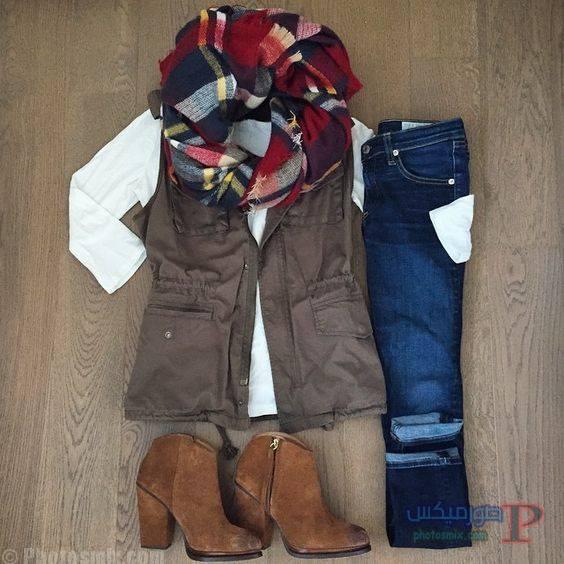 الشتاء ملابس محجبات شتاء 2017 16
