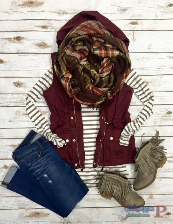 الشتاء ملابس محجبات شتاء 2017 30
