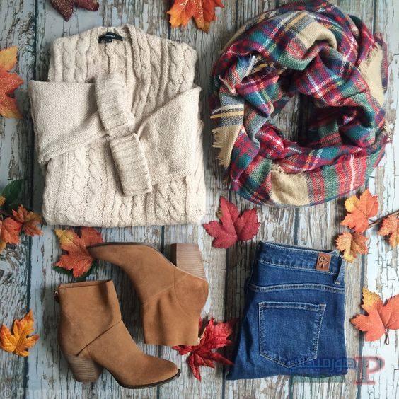 الشتاء ملابس محجبات شتاء 2017 7