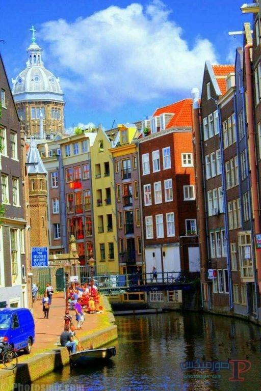 -الهولنديه-_-صور-ساحره-لمدينه-امستردام-6 صور خلفيات مدينة امستردام الساحره 2018