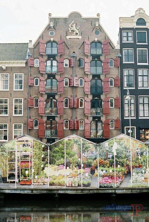 الهولنديه صور ساحره لمدينه امستردام 9