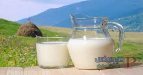 أضرار الحليب كامل الدسم علي الكبد والمرارة والبشرة