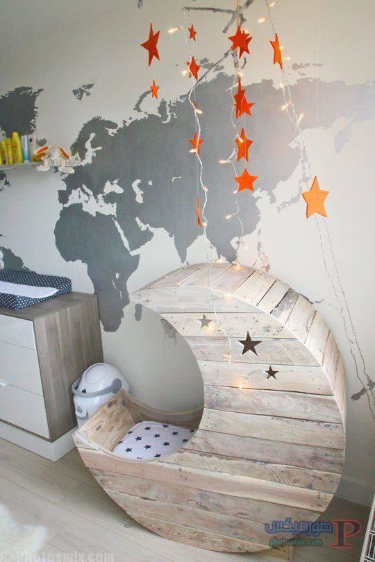 -غرف-نوم-الاطفال-10-1 تصاميم لديكورات غرف نوم الاطفال مودرن صور غرفة الاطفال كلاسيك