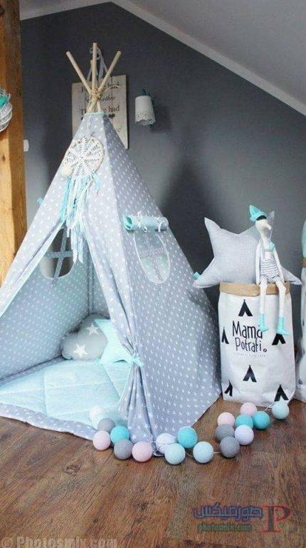 -غرف-نوم-الاطفال-14 تصاميم لديكورات غرف نوم الاطفال مودرن صور غرفة الاطفال كلاسيك